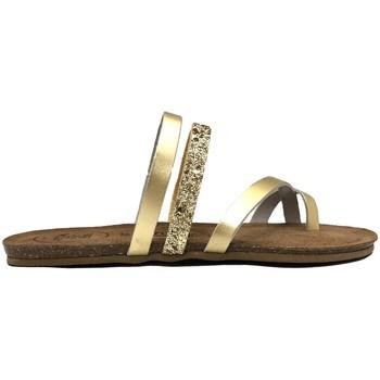 Schuhe Damen Sandalen / Sandaletten Amoa sandales LORGUES Or Gold