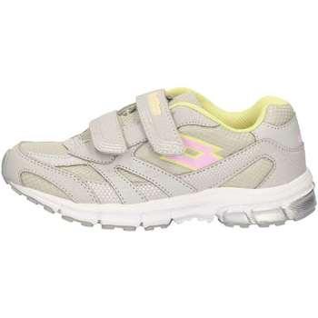 Schuhe Mädchen Sneaker Low Lotto R6072 GRAY