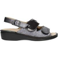 Schuhe Damen Sandalen / Sandaletten Clia Walk Estraibile410 anthrazit