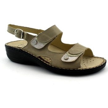 Schuhe Damen Sandalen / Sandaletten Grunland GRU-CCC-SE0205-CO Beige