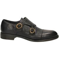 Schuhe Herren Slipper Brecos BUFFALO TUFF. nero-nero