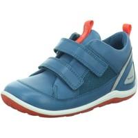 Schuhe Jungen Sneaker Low Ecco Klettschuhe  BIOM MINI SHOE 753911/01269 blau