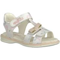 Schuhe Mädchen Sandalen / Sandaletten S.Oliver Maedchen Ki.-Sandalette 5-5-38210-22-152 weiß