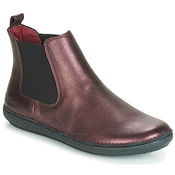 Schuhe Damen Boots Kickers FANTIN Violett