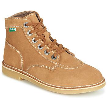 Schuhe Damen Boots Kickers ORILEGEND Camel