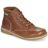 Schuhe Damen Boots Kickers LEGENDIKNEW Camel