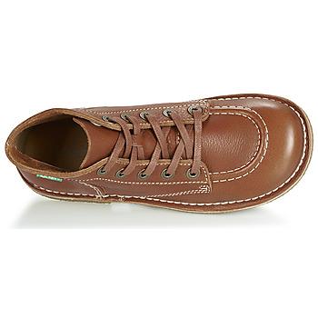 Kickers LEGENDIKNEW Camel - Kostenloser Versand    - Schuhe Boots Damen 11900