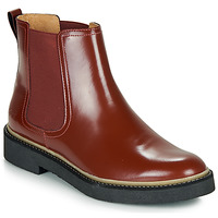 Schuhe Damen Boots Kickers OXFORDCHIC Rot