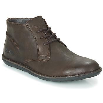 Schuhe Herren Boots Kickers SWIBO Braun