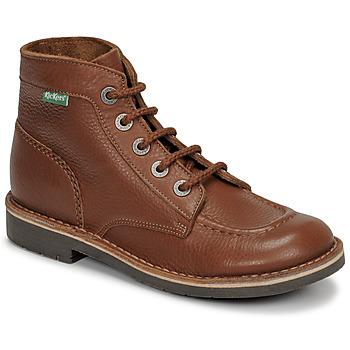 Schuhe Damen Boots Kickers KICK COL Braun