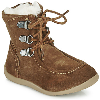 Schuhe Kinder Klassische Stiefel Kickers BAMARA Camel