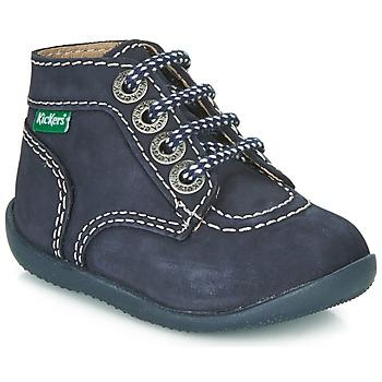 Schuhe Kinder Boots Kickers BONBON Marine