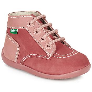 Schuhe Mädchen Boots Kickers BONBON Rose