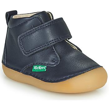 Schuhe Kinder Boots Kickers SABIO Marine