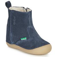 Schuhe Kinder Klassische Stiefel Kickers SOCOOL Marine