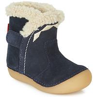 Schuhe Kinder Klassische Stiefel Kickers SOFUR Marine