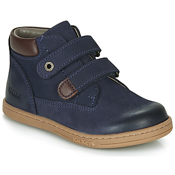 Schuhe Jungen Boots Kickers TACKEASY Marine