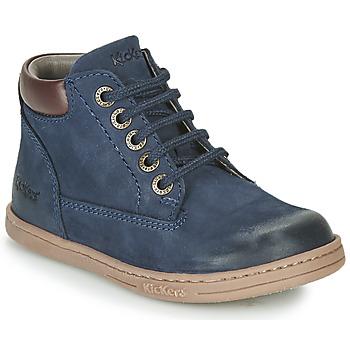Schuhe Jungen Boots Kickers TACKLAND Marine