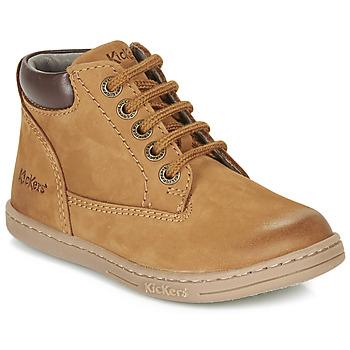 Schuhe Jungen Boots Kickers TACKLAND Camel