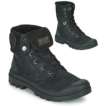 Schuhe Boots Palladium PAMPA BAGGY NBK Schwarz