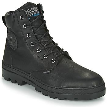 Schuhe Herren Boots Palladium PALLABOSSE SC WP Schwarz