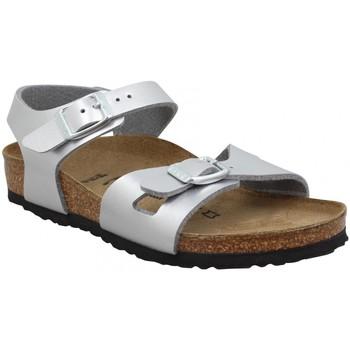 Schuhe Kinder Sandalen / Sandaletten Birkenstock 120844 Silbern