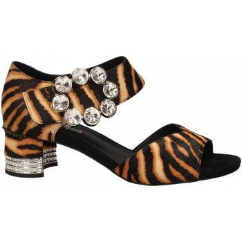 Schuhe Damen Sandalen / Sandaletten Jeffrey Campbell BOLEYN JH HAIR tan