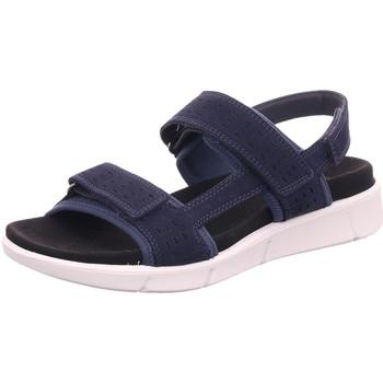 Schuhe Damen Sportliche Sandalen Legero Sandaletten 00742-80 blau