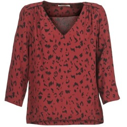 Kleidung Damen Tops / Blusen See U Soon TRIRIVIER Bordeaux