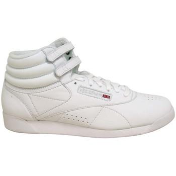 Schuhe Damen Sneaker High Reebok Classic FREESTYLE HI Weiss
