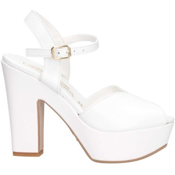 Schuhe Damen Sandalen / Sandaletten David Haron FLY PE BIANCO Sandalen Frau weiß weiß