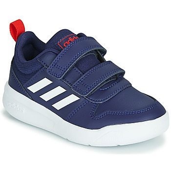 Schuhe Kinder Sneaker Low adidas Performance VECTOR C Blau / Weiss