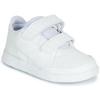 Schuhe Kinder Sneaker Low adidas Performance ALTASPORT CF I Weiss