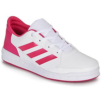 Schuhe Mädchen Sneaker Low adidas Performance ALTASPORT K Weiss / Rose