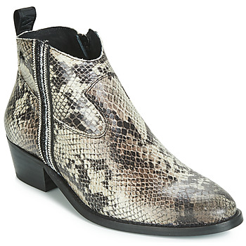 Schuhe Damen Boots Replay PINETOP Ecaille / Reptil