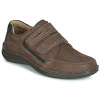 Schuhe Herren Derby-Schuhe Josef Seibel ANVERS 90 Braun