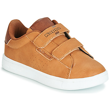Schuhe Jungen Sneaker Low Kappa TCHOURI Braun
