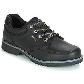 Schuhe Herren Sneaker Low Kappa NAGOA Schwarz