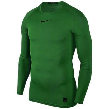 Kleidung Herren Langarmshirts Nike Pro Top Compression Grün