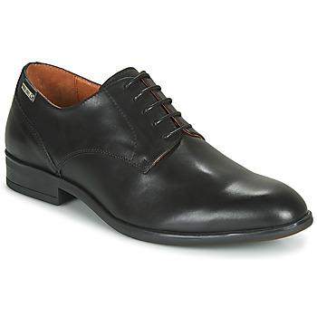 Schuhe Herren Derby-Schuhe Pikolinos BRISTOL M7J Schwarz