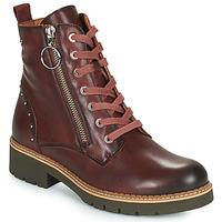 Schuhe Damen Boots Pikolinos VICAR W0V Braun