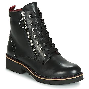 Schuhe Damen Boots Pikolinos VICAR W0V Schwarz