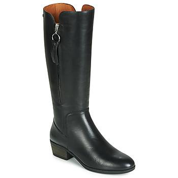 Schuhe Damen Klassische Stiefel Pikolinos DAROCA W1U Schwarz