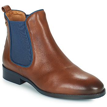 Schuhe Damen Boots Pikolinos ROYAL W4D Braun