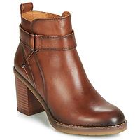 Schuhe Damen Low Boots Pikolinos POMPEYA W9T Braun