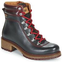 Schuhe Damen Boots Pikolinos ASPE W9Z Schwarz