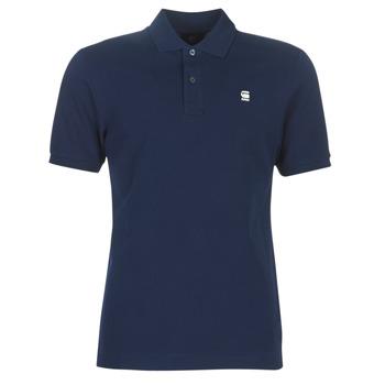 Kleidung Herren Polohemden G-Star Raw DUNDA SLIM POLO Blau