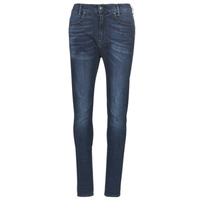 Kleidung Damen Slim Fit Jeans G-Star Raw D-STAQ MID BOY SLIM Blau