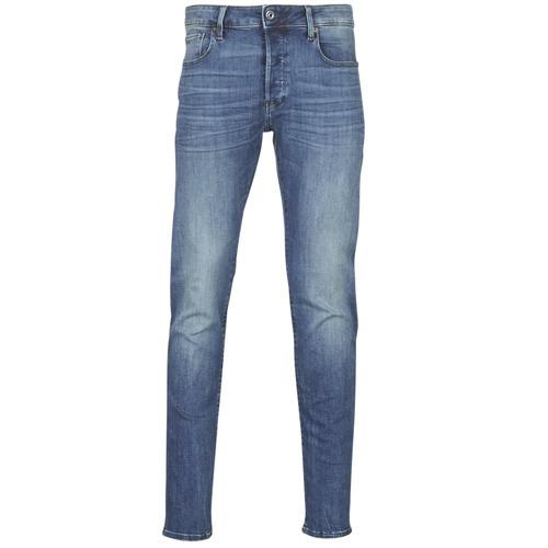 Kleidung Herren Slim Fit Jeans G-Star Raw 3301 SLIM Blau
