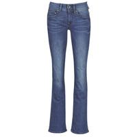 Kleidung Damen Bootcut Jeans G-Star Raw MIDGE MID BOOTCUT WMN Blau / Blau